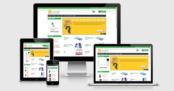 Thiết kế website bán hàng online chuyên nghiệp giá rẻ