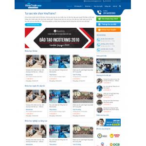 Mẫu web giáo dục 6